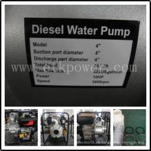 Key Start Diesel Wasserpumpe (DWP100)