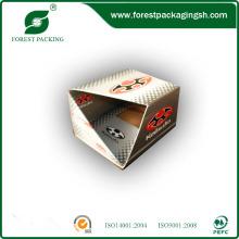 Fabricante de caixa de exibição de caixa de cores impressas com preço barato
