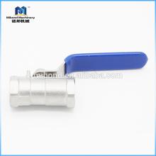 Válvula de bola sanitaria 2-PC de calidad superior
