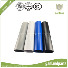 Revestimento revestido de PVC para reboques laterais de cortina Branco