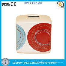 DOT Swirl Fancy Entwurfs-Quadrat-Seidenpapier-Kasten