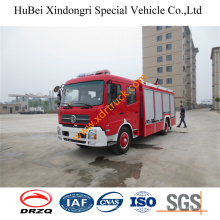 6ton Dongfeng Fire Sprinkler Fire Truck Euro4