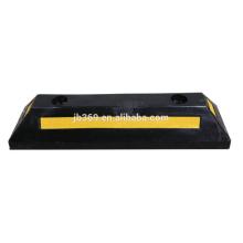 Tapón de la rueda de goma 560x150x100mm para la seguridad del tráfico
