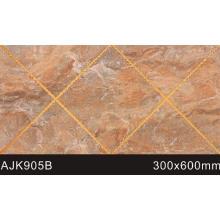 Nouvelle conception de carreaux muraux poli en cristal de salle de bains (AJK905B)