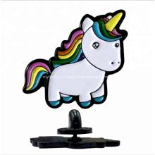 Pin de la solapa del unicornio del Pin del esmalte suave colorido modificado para requisitos particulares