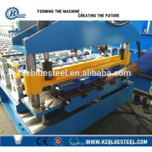 High Quality China Manufacturer Roof Tile Roll Forming Machine, Color Coated Metal Step Roof Tile Making Machine