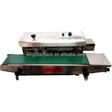FA-900S máquina de sellado de nitrógeno de impresión continua de acero semi automática