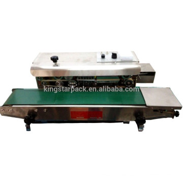 FA-900S semi automatic continuous steel printing nitrogen sealing machine