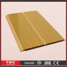 Middle Groove Yellow Plastic Bathroom Roof Panel