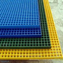 Rejilla de fibra de vidrio moldeada FRP / GRP moldeada de alta carga