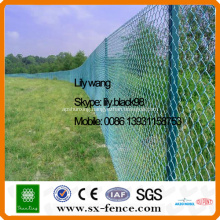 ISO9001powder coated chain linked fencing