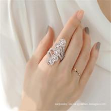 Schicksal Schmuck Kristall von Swarovski Ring Glanz Ring