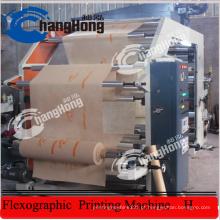 Máquina de impressão flexográfica não tecida