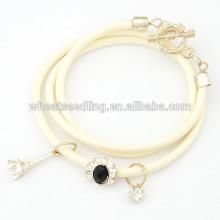 Atacado pulseira corda pulseiras artesanais