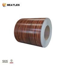 Geprägte farbbeschichtete Aluminiumspule für Baumaterial