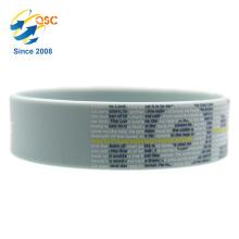 En gros promotionnel personnalisable HOPE bracelet