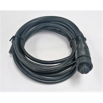 Cable impermeable IP67 con conector M16