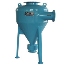 Hidrociclone de 90% de melhor eficiência separa o filtro de areia da água
