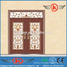 JK-C9047 modische Top-Verkauf Porzellan Malerei Carving Kupfer Kunst Metall Tür
