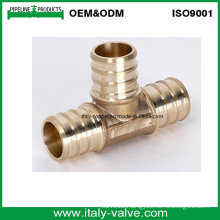 Brass Equal Tee for Pex Pipe (PEX-002)