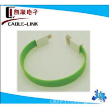 Newest Flat cable for iphone 5 8 pin data cable for iphone5