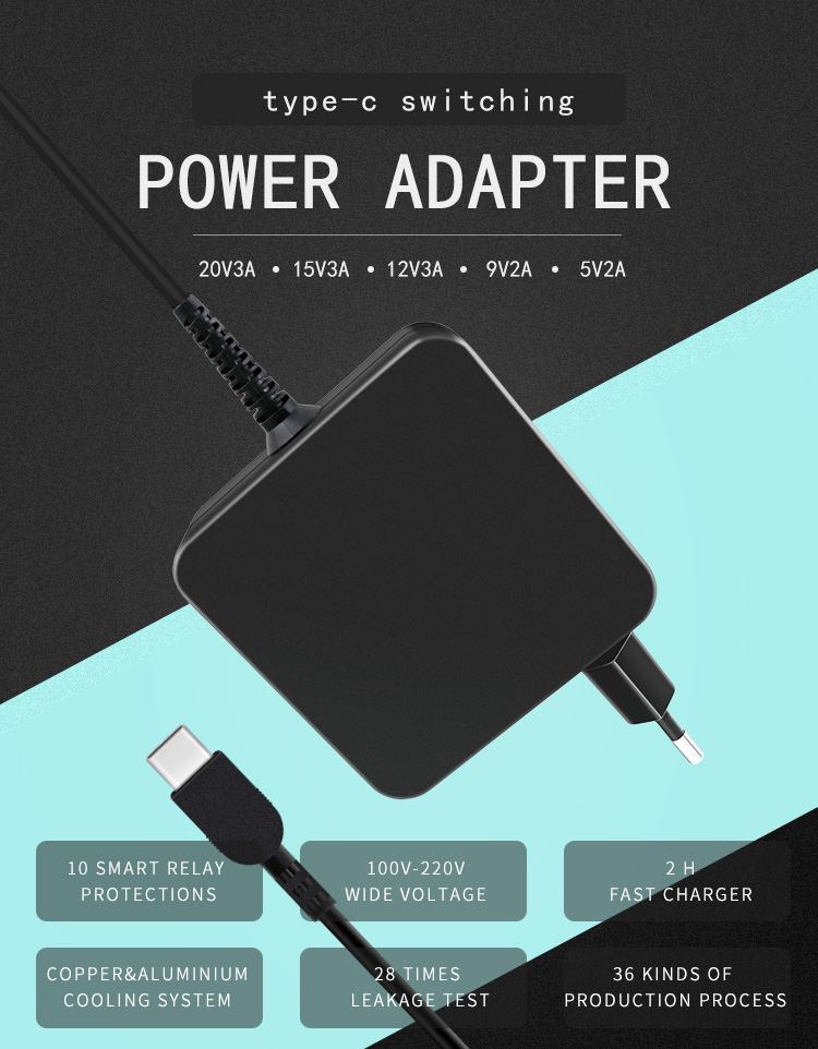 65w Notebook Adapter