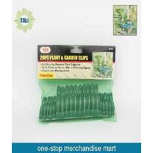 Plastic garden clips