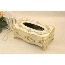High-grade Retro Wooden Tissue Box