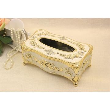 High-grade Retro Wooden Tissue Box