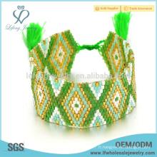 Bracelets d'amitié bohème à chaud, bracelet en mousse bohème