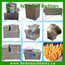 Linha de produção de aço inoxidável das microplaquetas de batata da máquina de processamento das microplaquetas de batata