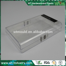 Boîtier en plastique OEM Boîte moud Fabricant de moules en boîte d'emballage transparente