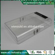 OEM plástico molde caixa moud transparente embalagem fabricante fabricante