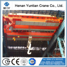 80 Ton Double Girder Overhead Bridge Ladle Crane