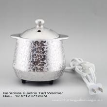 15CE23908 Queimador de Tartar elétrico chapeado prata