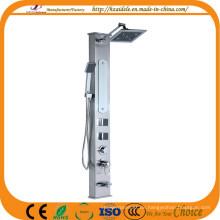 Thermostat-Wasserhahn-Stahlduschtafel (YP-9011)