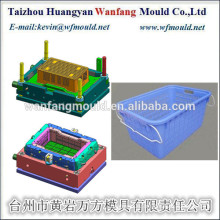 plastic fish crate mould&packaging box for fish crate mould