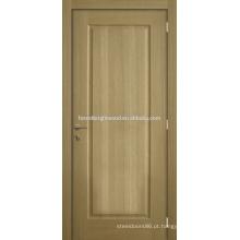 White Oak folheado Natural laca moldado porta