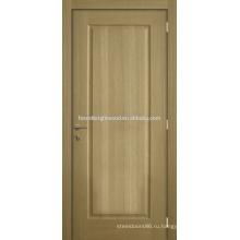 Белый дуб шпон природных лак формованных дверь