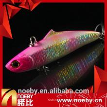 NOEBY 75mm 19g saltwater laser minnow VIB hard bait lure