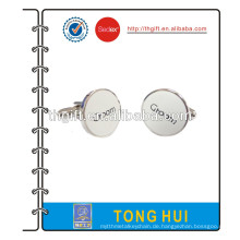 Metall Manschettenknopf mit 2D Seidendruck Design
