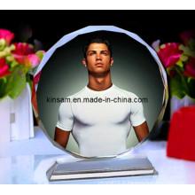 Cadre en verre de photo d'impression en cristal de photo pour des cadeaux en cristal