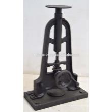 Base de la mesa de la manivela de la consola industrial