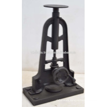 Industrial Console Crank Table Base