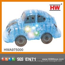Горячая продажа пластиковых музыкальных 3d Кристалл автомобилей автомобилей игрушка