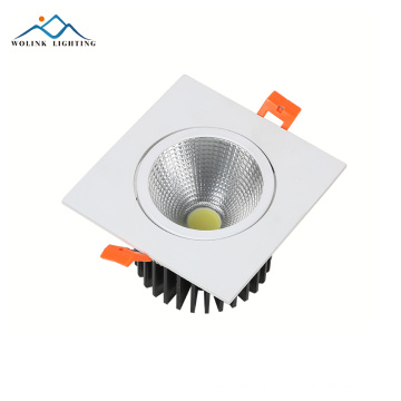 Best quality CE RoHS approved led cob downlight price,cob led downlight 3w 5w 7w 9w