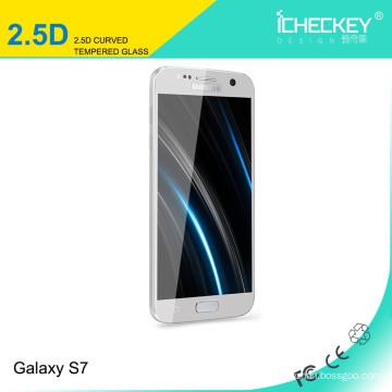 Fuente de la fábrica !! 0.33mm 9H Anti roto teléfono celular Protector de pantalla de vidrio templado para Samsung Galaxy A7 2016