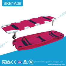 SKB1A06 Handheld Canvas Folding Patient Transport Stretcher