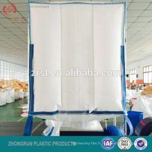 sac de déflecteur Q BAG BULK BAG, 1000 kg sac 105 105 110 bec supérieur et bec de décharge inférieur