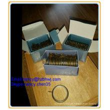 Escovado, bronze, bronze, resistente, metal, cortina, poste, anéis